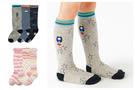【韓風童品】(3雙/組)男女寶寶防滑中筒襪  兒童棉襪 點膠防滑襪子 學生襪 嬰幼兒中高筒襪子