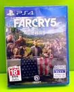 預購1/17 PS4 極地戰壕5 極地戰嚎 5 FarCry 5 亞版 中文 bets 版