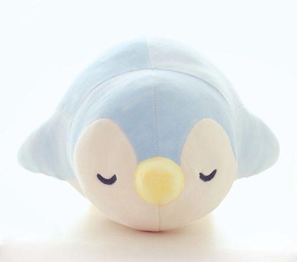 60CM羽絨棉極柔可愛企鵝絨毛玩具玩偶娃娃抱枕午睡枕靠墊(現+預)