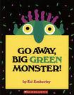 『鬆聽出英語力--第10週』『繪本123‧吳敏蘭老師書單』--- GO AWAY, BIG GREEN MONSTER /書+CD