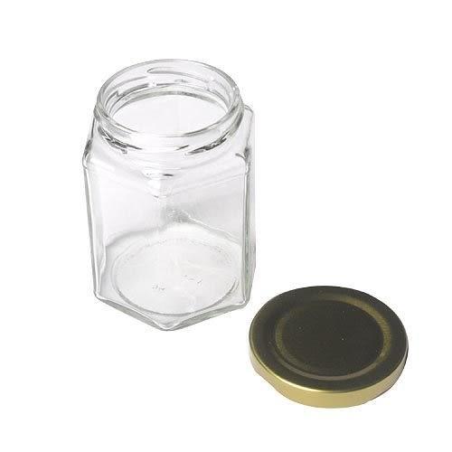 【我們網路購物商城】RP28 六角瓶-小 玻璃罐 果醬瓶