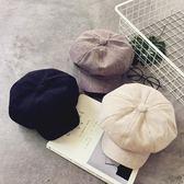 日系英倫文創女八角帽復古百搭休閒畫家帽子【聚寶屋】