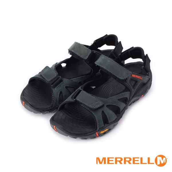 MERRELL ALL OUT BLAZE SIEVE CONVERT 魔鬼氈運動涼鞋 黑紅 ML12651 男鞋