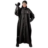 JUMP 將門 手套型前開一件式風雨衣(黑)