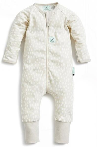 澳洲 ergoPouch 有機棉 長袖連身衣 - 米蘭米 0.2tog