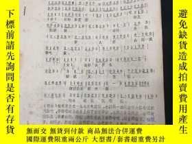 二手書博民逛書店雲嶺獵歌(鄖西三弦表演)罕見徐樹棠藏書三十Y269412 出版1981