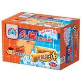 孔雀雞蛋布丁捲心餅63g*3入【愛買】