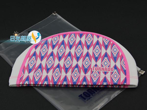 *日光部屋* TORNADO (公司貨)/TC-1516-PNK PU-2WAY 舒適泳帽(韓國知名品牌)