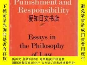 二手書博民逛書店【罕見】Punishment And Responsibilit