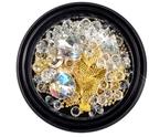 美甲鑽飾水晶鑽 精靈珠 裸鑽 鉚釘 鏈條...