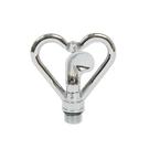 【久統生活】心型噴灑器-塑葉白鐵芯