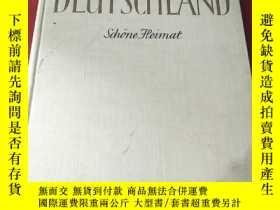 二手書博民逛書店deutschland罕見德國畫冊 1956年出版社Y8088