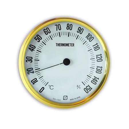 《CRECER》溫度計 圓型 乾式三溫暖用 Sanua-Thermometer