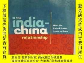 二手書博民逛書店The罕見India-China Relationship :