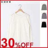 出清 純棉T恤 白T恤 女 免運費 日本品牌【coen】