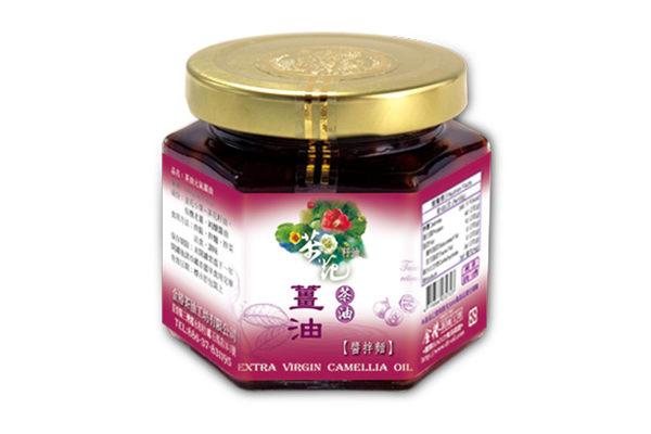 金椿茶油工坊~茶油元氣薑油200公克/罐