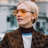GUCCI 墨鏡 宋茜配戴款 時尚大框 太陽眼鏡 GG0291S 003 金-玳瑁 久必大眼鏡