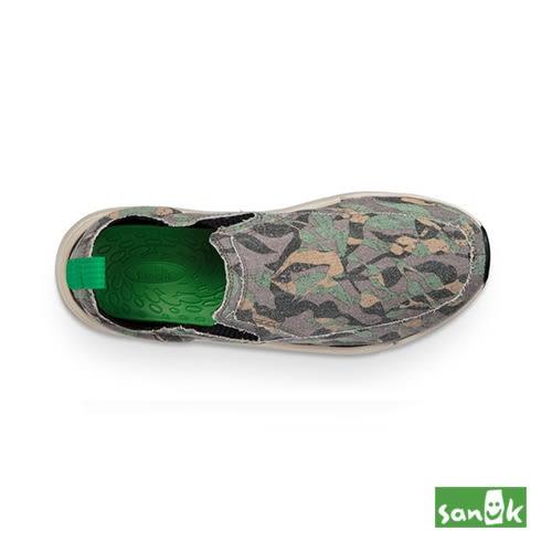 SANUK-CHIBA QUEST FUNK 迷彩風格拉環設計休閒鞋-中性款 1095409 OVC(水洗綠)
