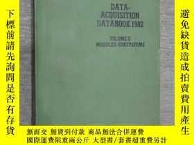 二手書博民逛書店data-acquisition罕見databook1982 數