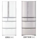 日立 HITACHI  RSF62J  615L 變頻六門冰箱 日本原裝
