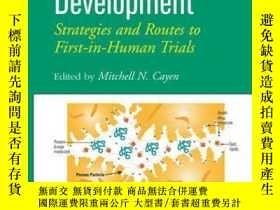 二手書博民逛書店Early罕見Drug Development: Strategies and Routes to First-i