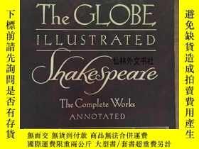二手書博民逛書店【罕見】The Globe Illustrated Shakes