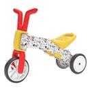 ◆三輪變二輪,高C/P值的幼兒玩具車 ◆龍頭轉幅限制,寬幅TPE輪胎,穩固好操控