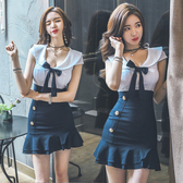 2020夏裝新款夜店女裝修身顯瘦性感氣質包臀洋裝緊身夜場裙子女 安妮塔小鋪