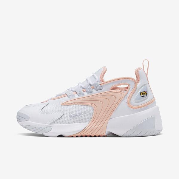 Nike W Zoom 2k [AO0354-108] 女鞋 運動 休閒 慢跑 健身 經典 氣墊 避震 球鞋 穿搭 白橘