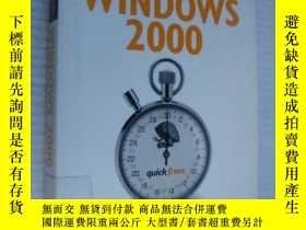 二手書博民逛書店Quick罕見fixes:Windows 2000Y146810