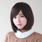整頂假髮(中長髮)-時尚潮流逼真女假髮3色73ef27【時尚巴黎】