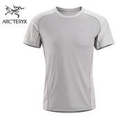 丹大戶外用品 【Arc'teryx】始祖鳥 Arc12 Velox Comp短袖男款圓領上衣 銀石灰 5013111940S