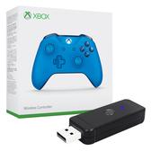 [哈GAME族]免運費 Xbox One 特別版 原廠無線藍芽控制器 + JYS-NS130 手柄轉換器 適用PC/PS3/NS