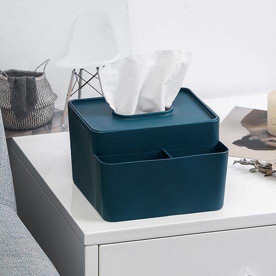 橡木蓋 收納盒 紙巾盒 衛生紙 木蓋 塑料蓋 桌面收納盒 北歐風 摩登簡約 面紙盒【A011-1】慢思行