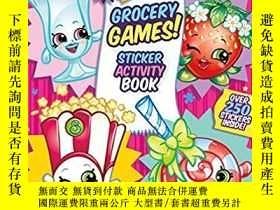 二手書博民逛書店Shopkins雜貨店遊戲!罕見Shopkins Grocery