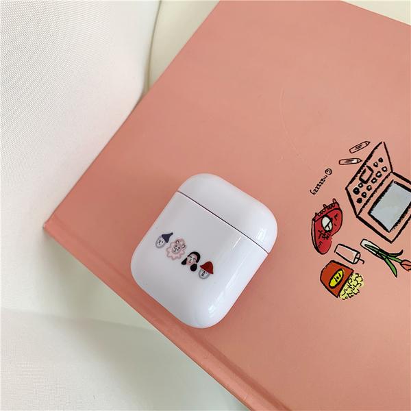 Airpods Pro 專用 1/2代 台灣發貨 [ 名媛的小清新 ] 藍芽耳機保護套 蘋果無線耳機保護