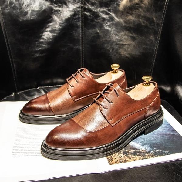 婚鞋 西裝皮鞋男商務正裝