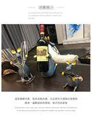 千悅創意酒架裝飾品紅酒瓶杯架家用酒柜擺件葡萄酒架高腳杯架倒掛 夏洛特 xl