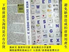 二手書博民逛書店WEB罕見DESIGN INDEX 3 (02)Y180897
