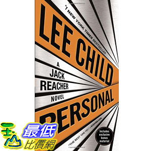[104美國直購] 美國暢銷書排行榜 Personal (with bonus short story Not a Drill): A Jack Reacher Novel Paperback