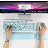 電腦墊 盤手托記憶棉鍵盤墊 滑鼠墊手腕墊電腦手枕墊掌托 俏女孩