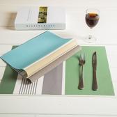 餐布餐桌墊北歐餐墊PVC防水隔熱墊家用日式簡約西餐墊碗墊水洗·享家生活館