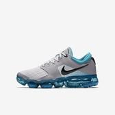 Nike Air Vapormax GS [917963-011] 大童鞋 運動 休閒 慢跑 輕量 氣墊 緩震 灰 水藍