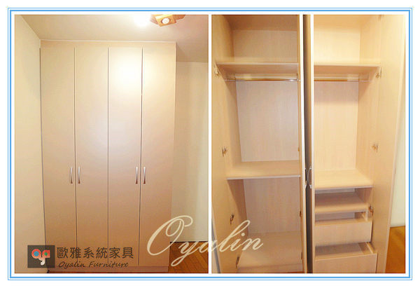 【歐雅系統家具】系統家俱 系統收納櫃  系統衣櫃 系統推拉門 原價 44452 特價 31116