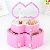 音樂盒音樂盒八音盒女生木質旋轉芭蕾舞跳舞女孩兒童生日禮物公主首飾盒 伊莎公主