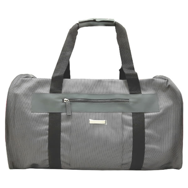 VERSACE 凡賽斯 灰色運動包/旅行包(一個拉鍊) 《Belle倍莉小舖》