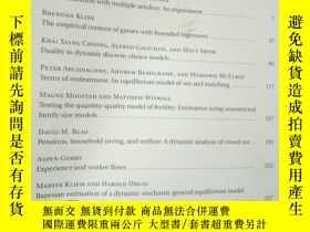 二手書博民逛書店QUANTITATIVE罕見ECONOMICS Vol.7,No