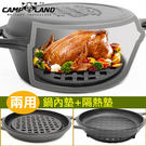 荷蘭鍋專用鍋內墊RV-IRON027(直徑20CM附橡膠腳墊)隔熱鍋墊隔熱墊鍋內網架免開鍋MAGIC