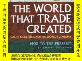 二手書博民逛書店The罕見World That Trade Created-貿易創造的世界Y436638 Kenneth Po