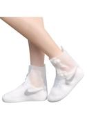 雨鞋女成人短筒水鞋中筒男夏雨靴雨鞋套防滑加厚耐磨兒童透明水靴 浪漫西街